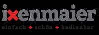 ixenmaier. einfach + schön + bedienbar Logo